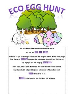 Eco Egg Hunt Flyer
